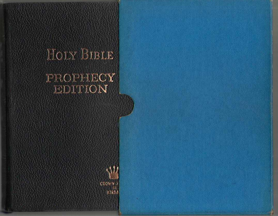 Image for Prophecy Edition - Holy Bible