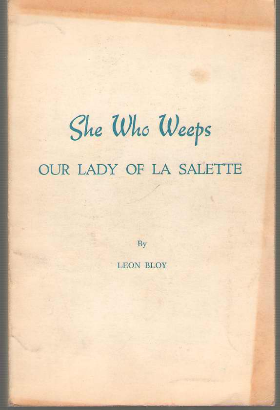 Image for She Who Weeps Our Lady of La Salette