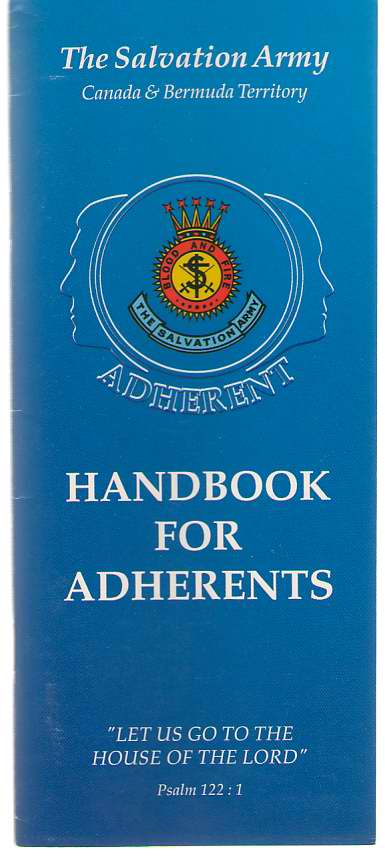 Image for Handbook For Adherents