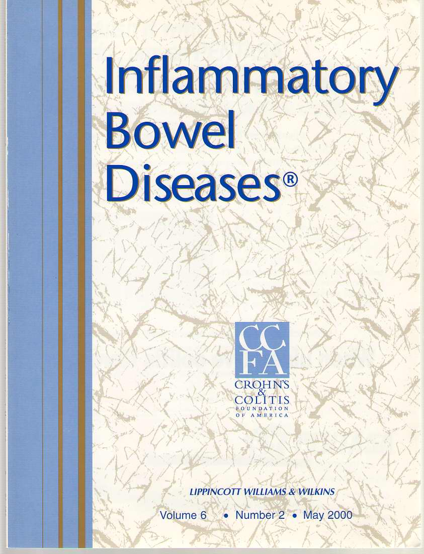 Image for Inflammatory Bowel Diseases: Official Journal Of The Ccfa Volume 6 - Number 2 - May 2000