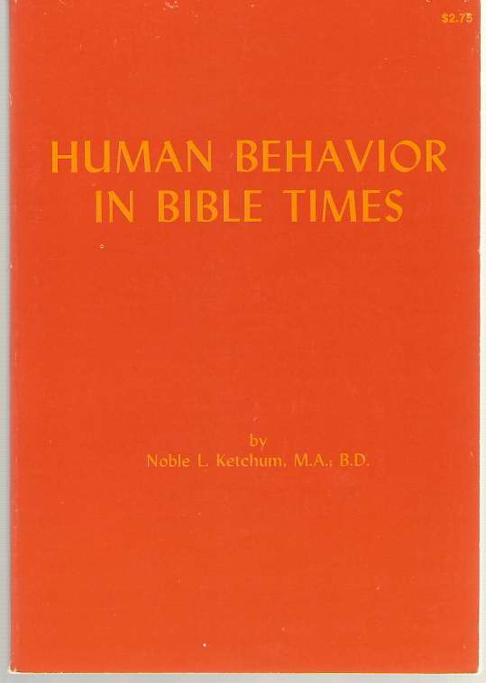 Image for Human Behavior in Bible Times