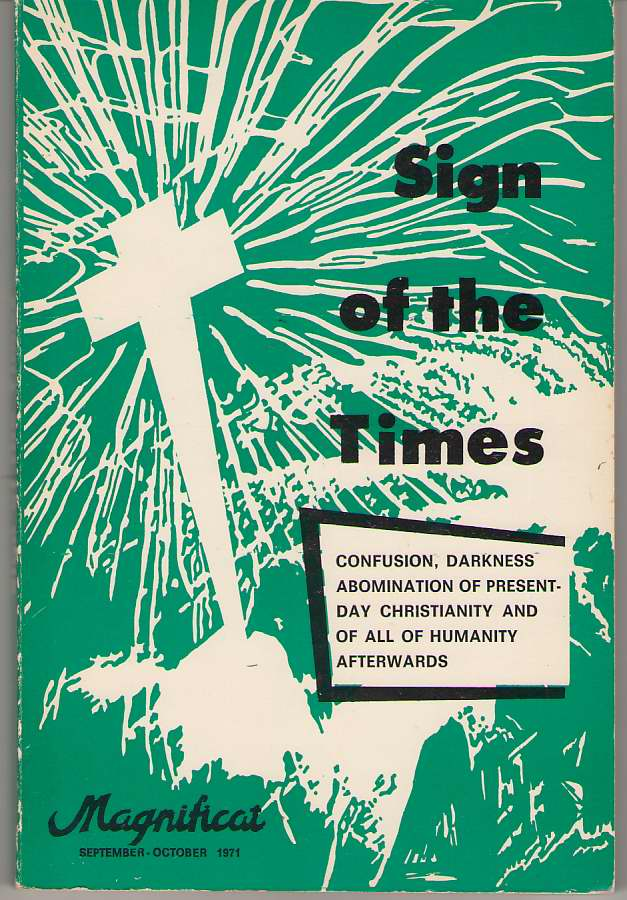 Image for Sign Of The Times Confusion, Darkness Abomination of Present-Day Christianity and of all Humanity Afterwards