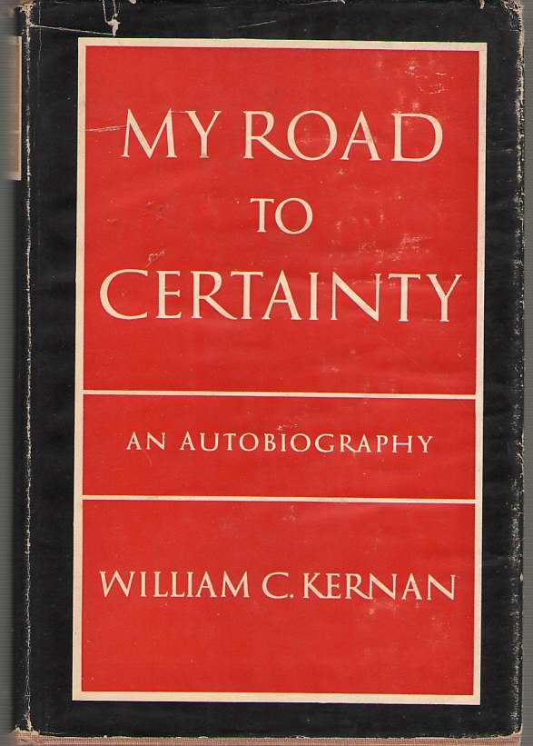 Image for My Road to Certainty