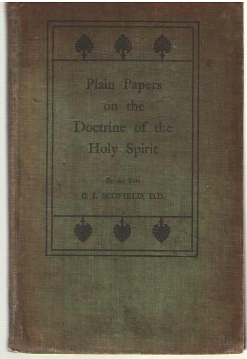 Image for Plain Papers on the Doctrine of the Holy Spirit