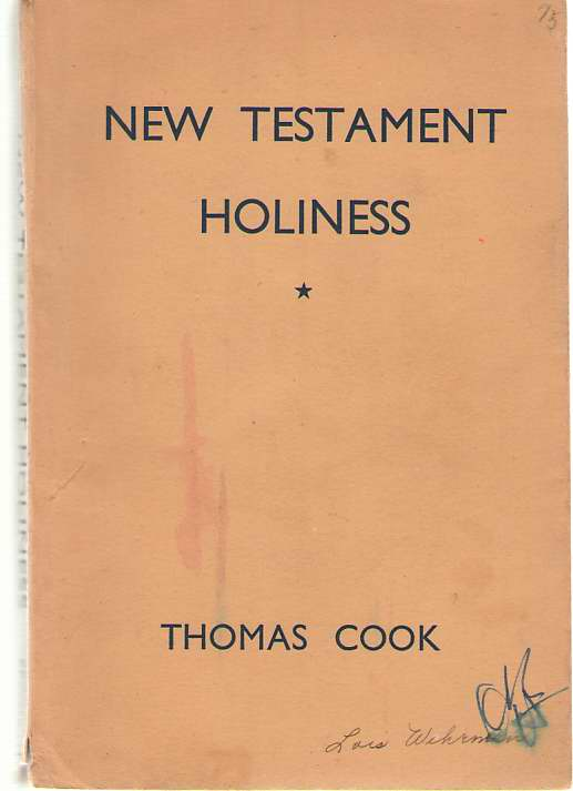 Image for New Testament Holiness