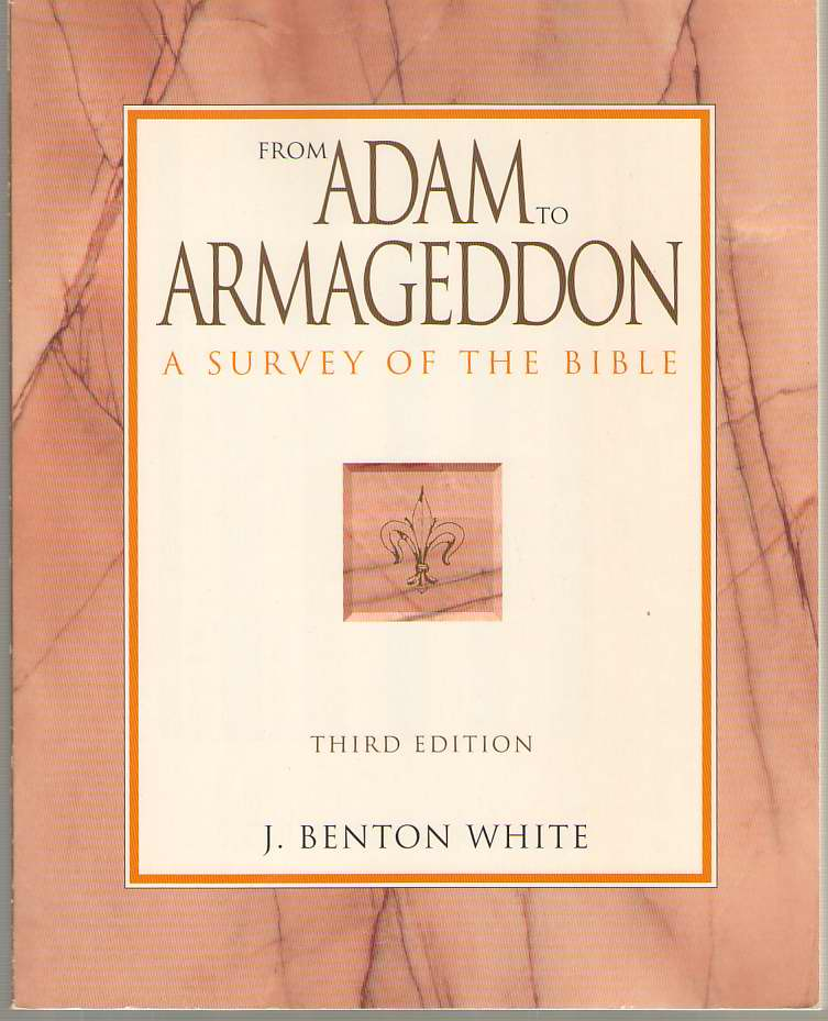 Image for From Adam to Armageddon A Survey of the Bible