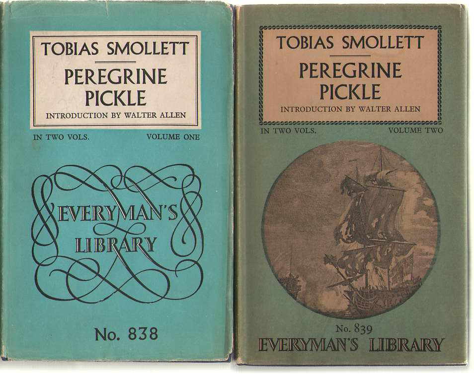 Image for Peregrine Pickle In Two Volumes