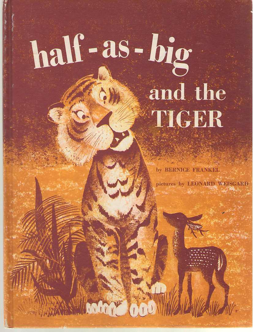 Image for Half-As-Big and the Tiger