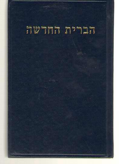 Image for Hebrew New Testament