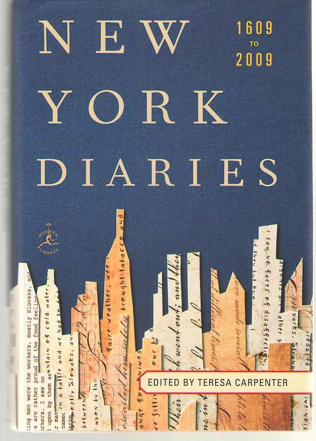 Image for New York Diaries 1609 to 2009