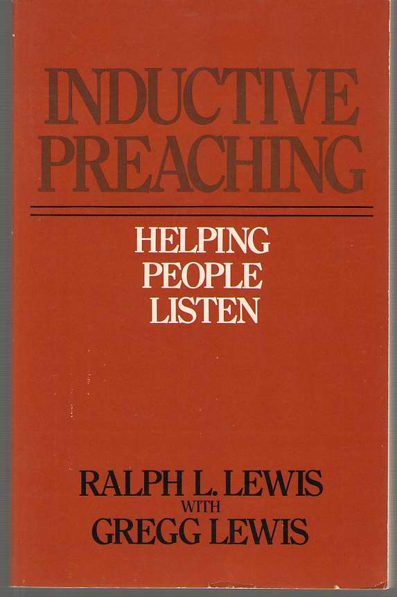 Image for Inductive Preaching Helping People Listen