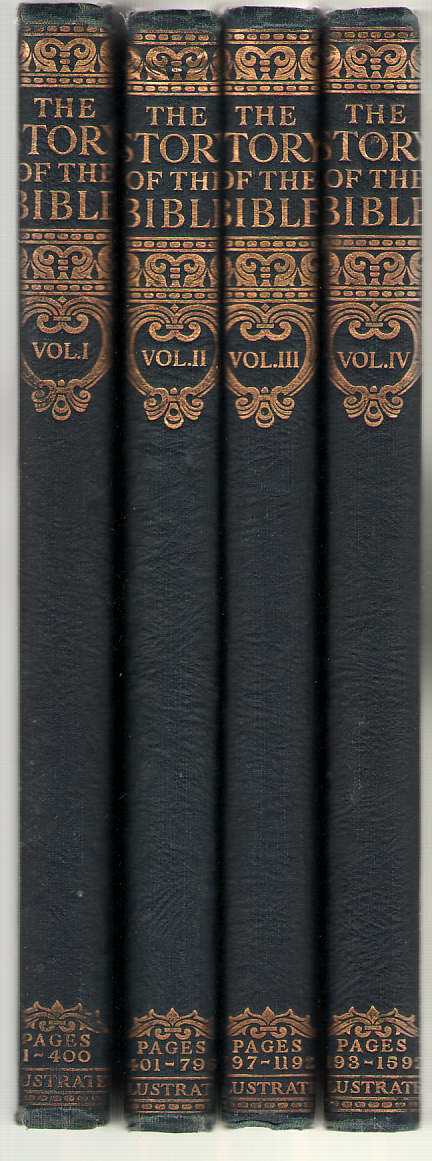 Image for The Story of the Bible Library Edition in Four Volumes