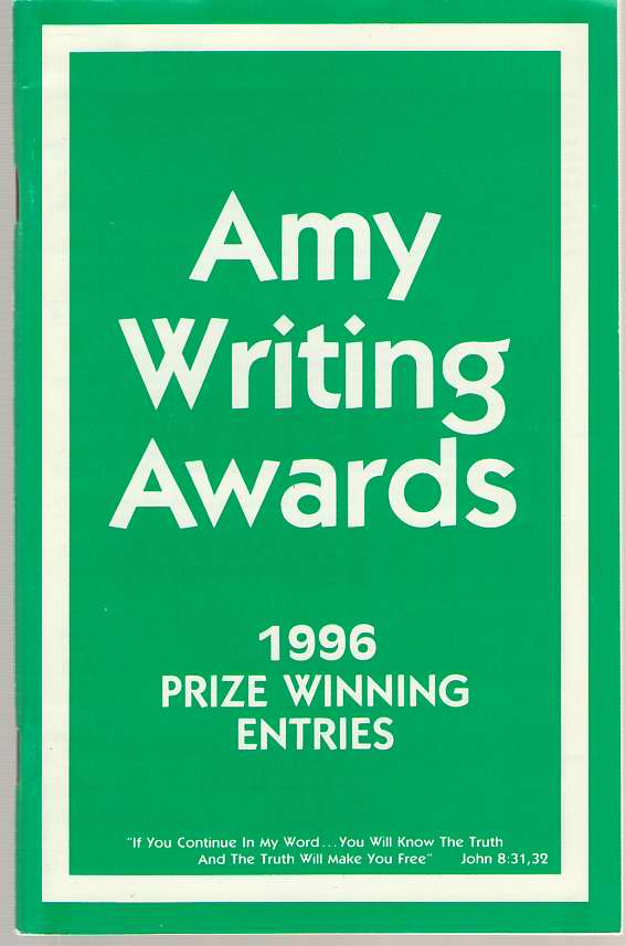 Image for Amy Writing Awards 1996 Prize Winning Entries