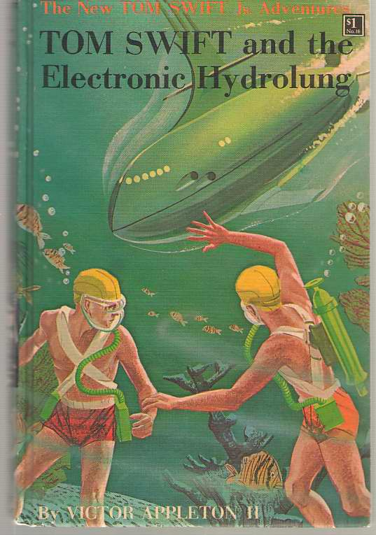 Image for Tom Swift And The Electronic Hydrolung