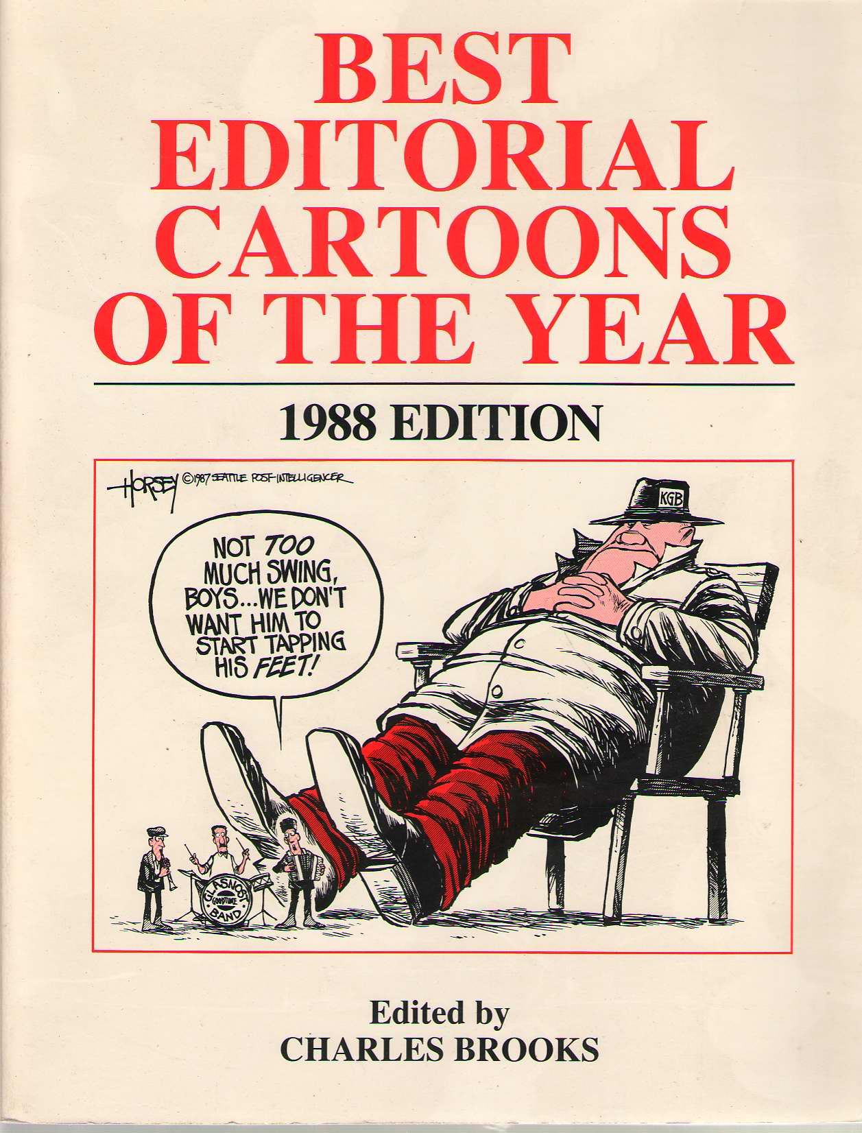 Image for Best Editorial Cartoons Of The Year: 1988
