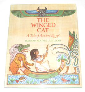 Image for The Winged Cat A Tale of Ancient Egypt