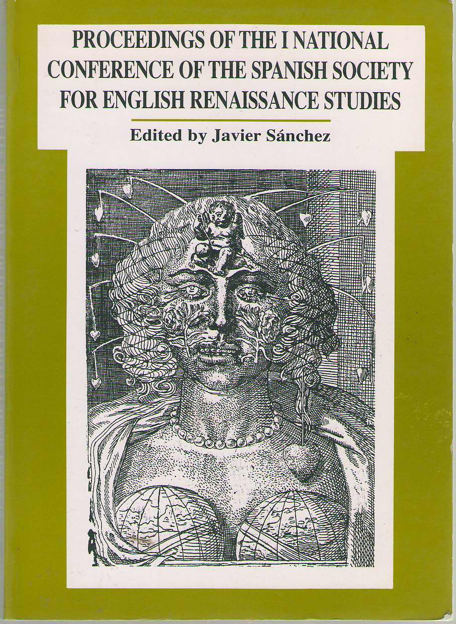 Image for Proceedings Of The First National Conference Of The Spanish Society For English Renaissance Studies