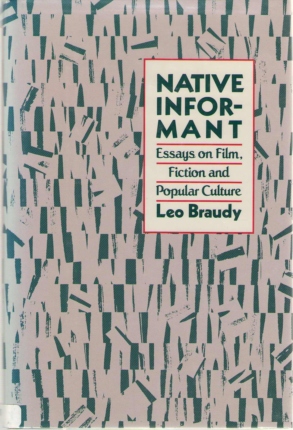 Image for Native Informant Essays on Film, Fiction, and Popular Culture