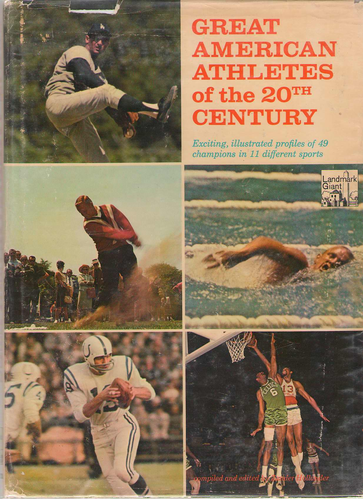 Image for Great American Athletes Of The 20th Century