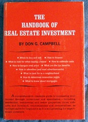 Image for The Handbook Of Real Estate Investment