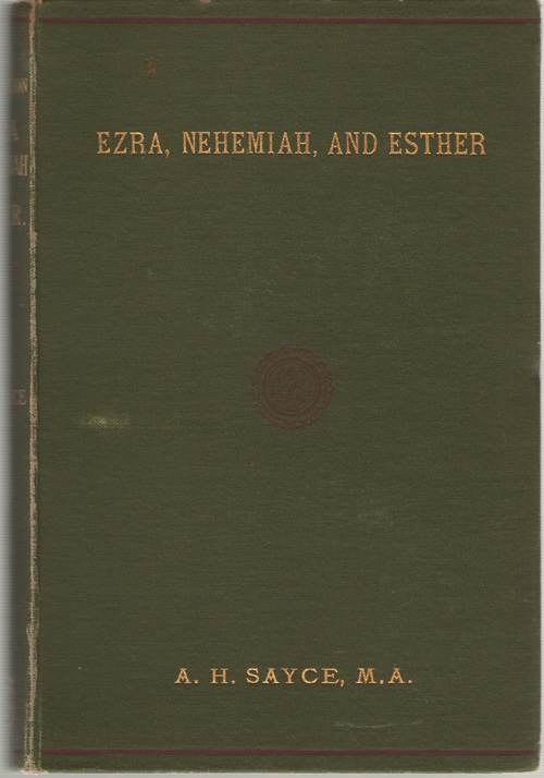 Image for An Introduction To The Books Of Ezra, Nehemiah, And Esther