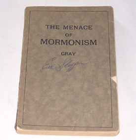 Image for The Menace Of Mormonism