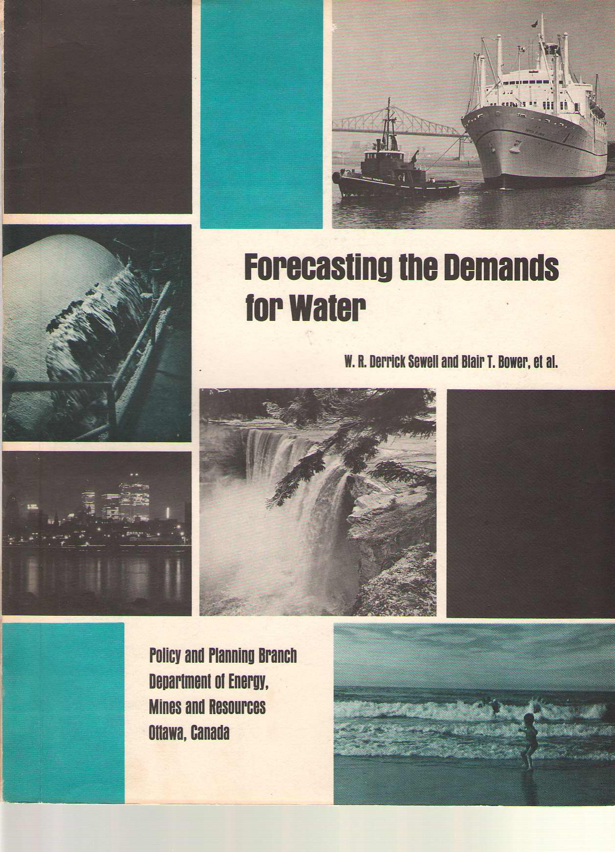 Image for Forecasting The Demands For Water