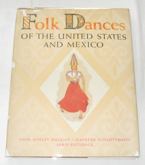 Image for Folk Dances of the United States and Mexico
