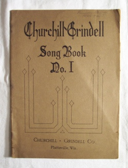 Image for Churchill Grindell Song Book - No I Contains Songs for the Primary and Intermediate Grades