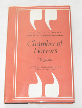 Image for Chamber Of Horrors A Glossary of Official Jargon Both English and American