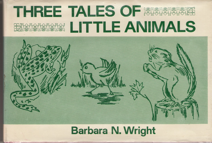Image for Three Tales Of Little Animals