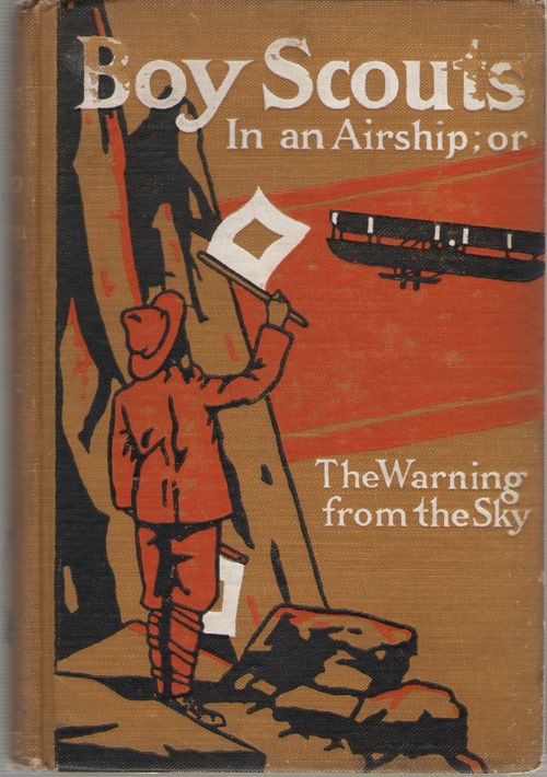 Image for Boy Scouts In An Airship Or, the Warning from the Sky